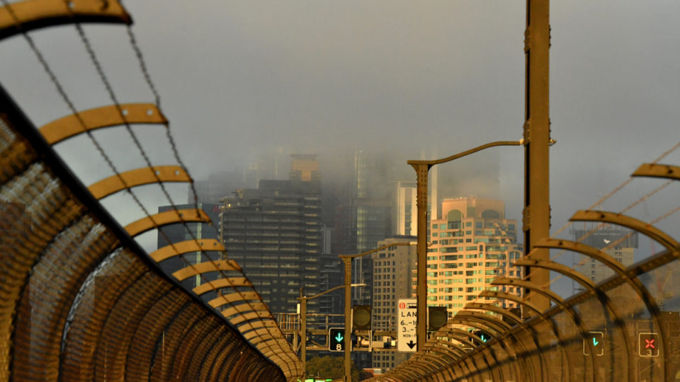 sydney fog smoke