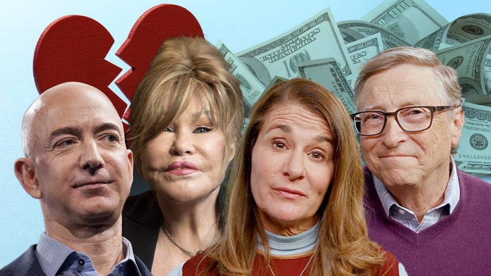 Bill and Melinda Gates high-profile divorces