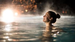 Natural hot springs Australia