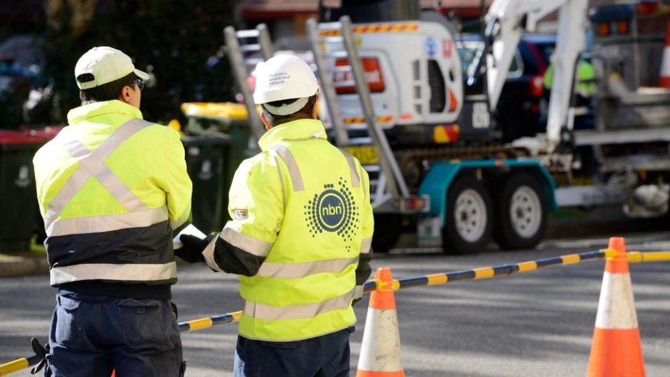 NBN workers protest