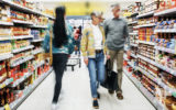 Supermarkets' sales are falling