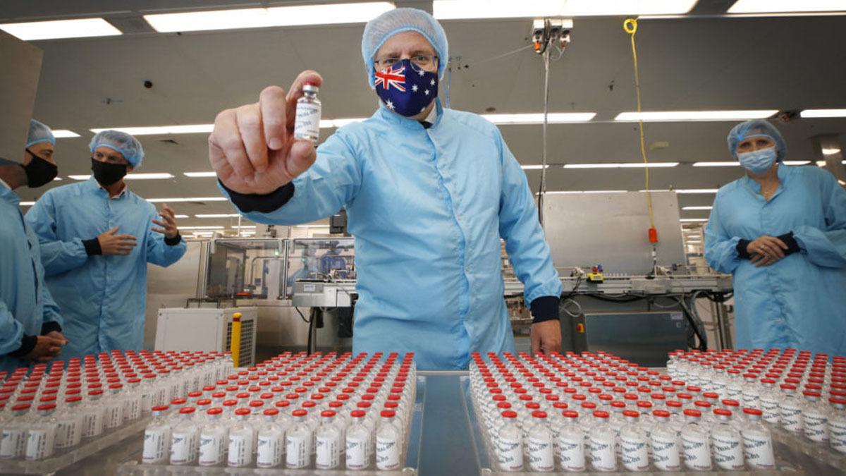Vaccine fraud and a black market threaten Australia