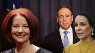 Julia Gillard, Greg Hunt and Linda Burney are calling for confidence in AstraZeneca