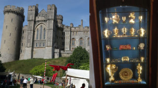 arundel castle theft
