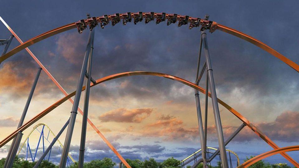 Jersey Devil rollercoaster