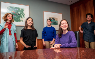teenagers climate change court