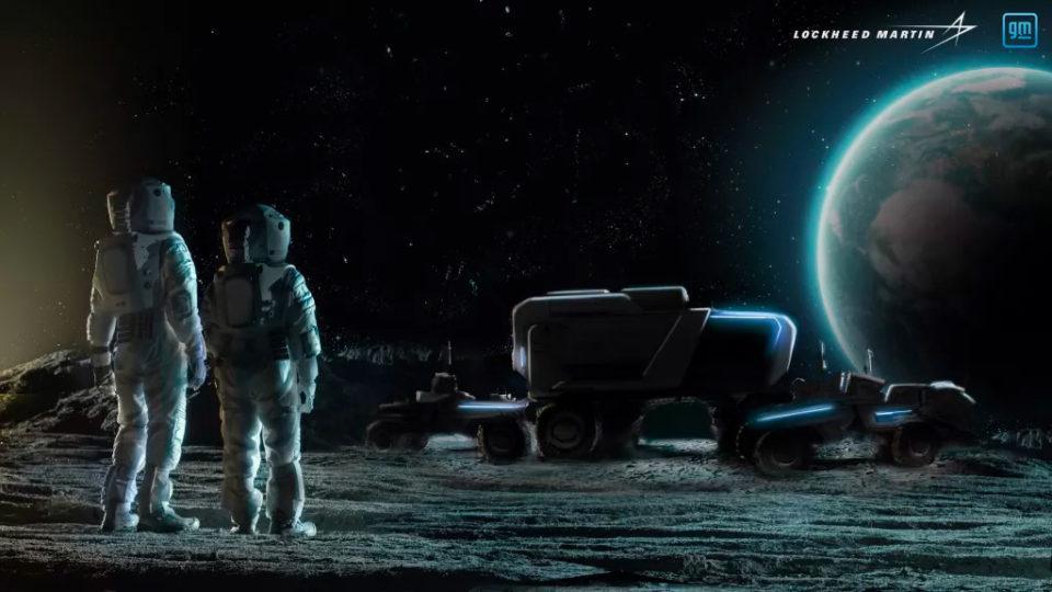 General Motors announces moon rover project