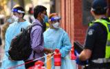 Hotel quarantine in Victoria