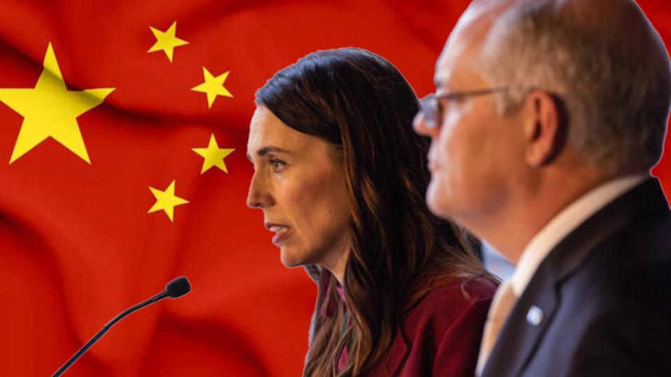 china australia zealand