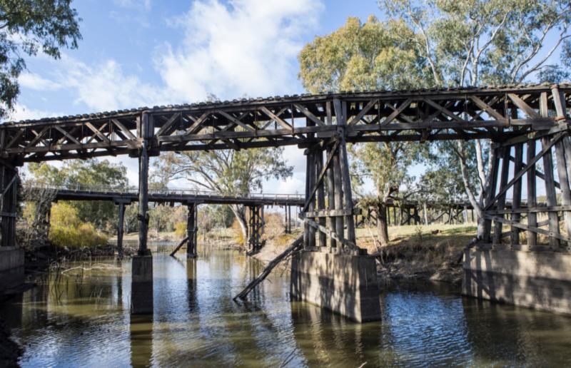 Gundagai's Railway Bridge