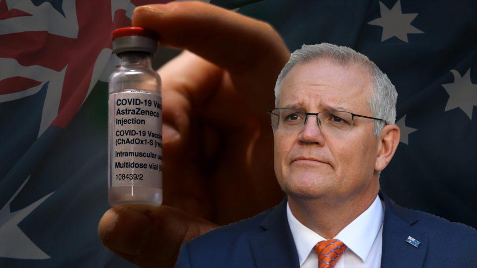 Scott Morrison and a vile of COVID vaccine