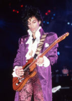 Prince performing in 1984.