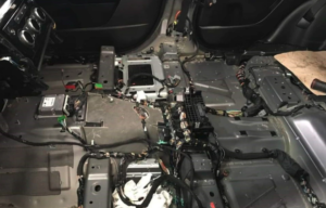 rat destroy car