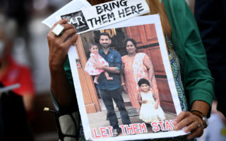 An image of the Biloela family who could be released as early as Tuesday.