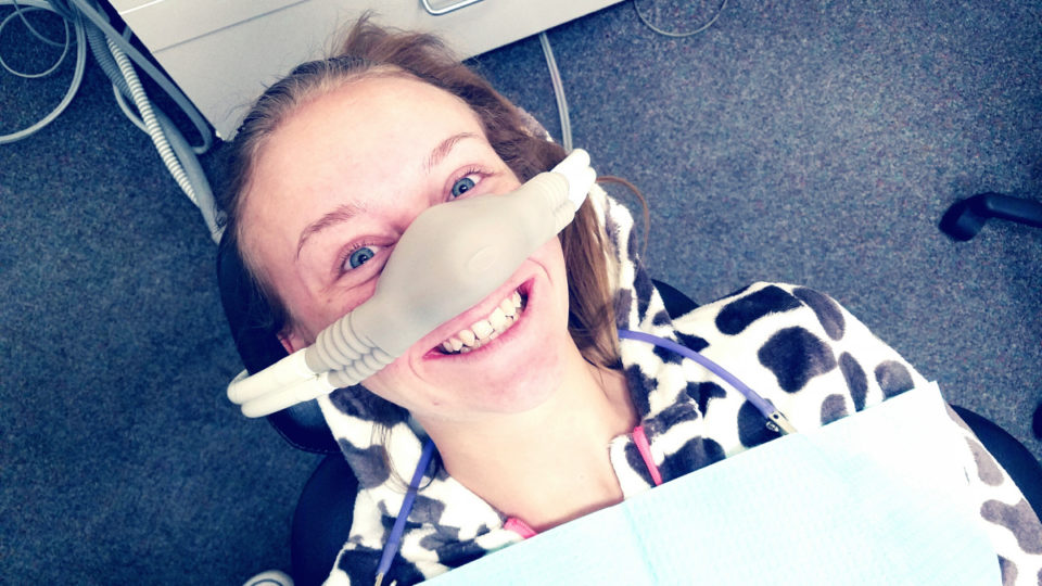 Laughing gas treats depression