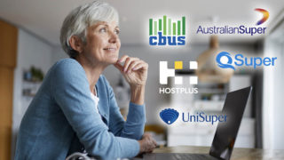 A woman considering superannuation funds