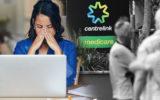 Stressed woman applying for JobSeeker