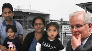 Scott Morrison and the Biloela family