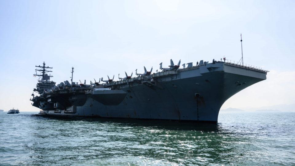 us navy china sea
