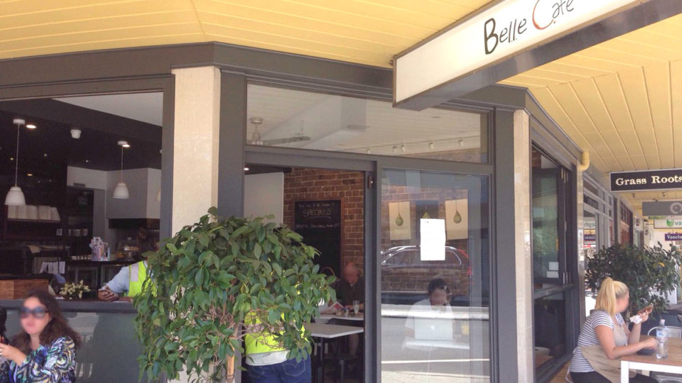 belle cafe nsw covid