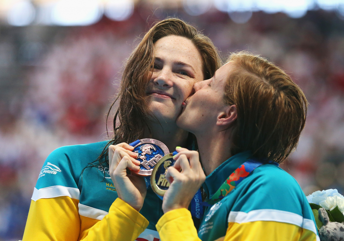Cate Campbell and sister Bronte