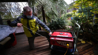 Victorian storms clean up