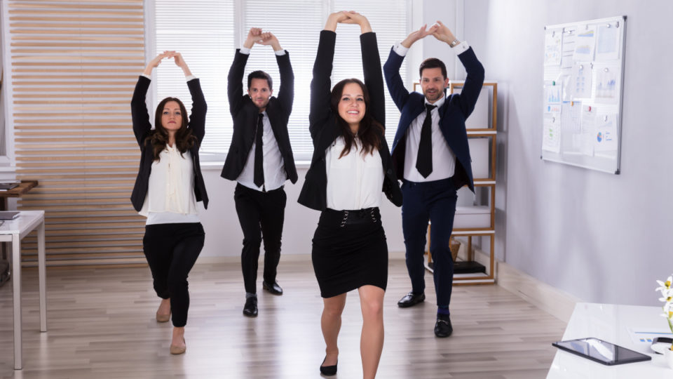 Team building exercises in the workplace
