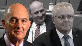 Barnaby Joyce Scott Morrison trouble
