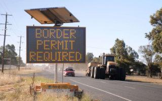 Victorians stuck at border
