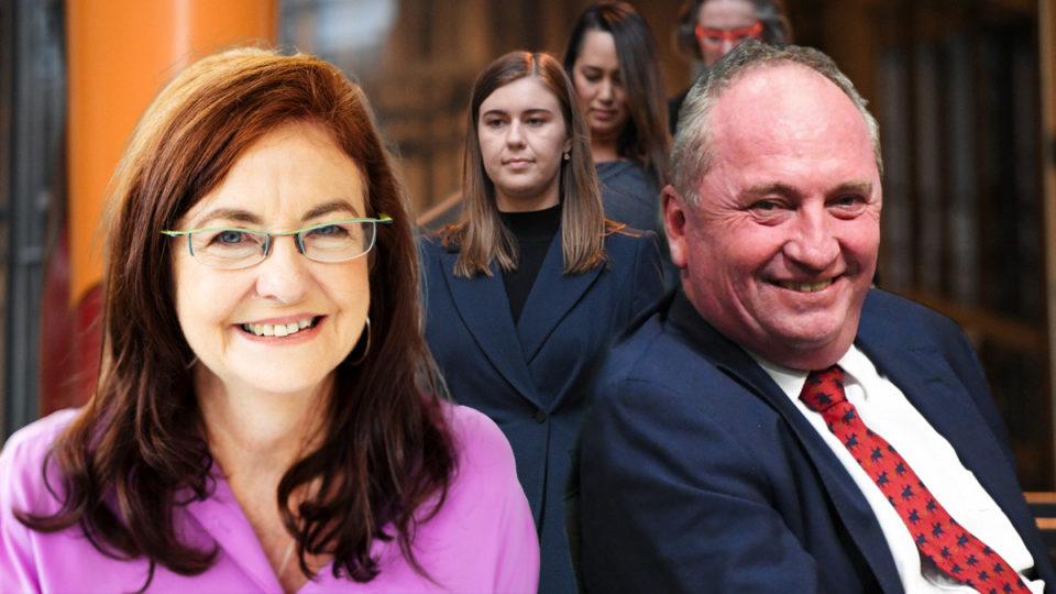 Barnaby Joyce women politics