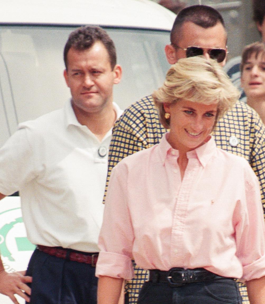 Princess Diana and butler Paul Burrell