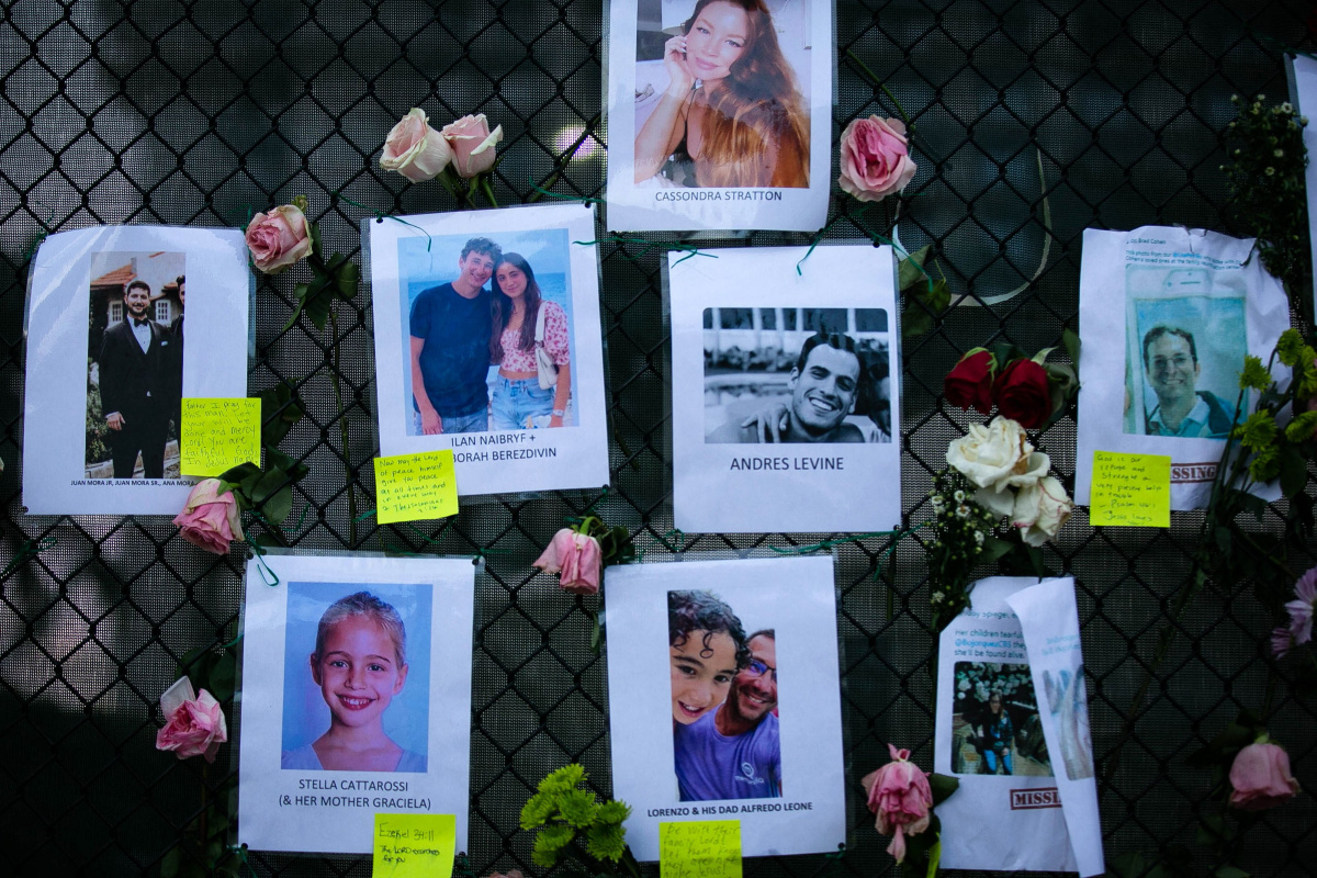 Victims of the collapsed Miami building