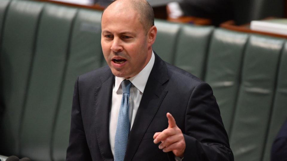 Josh Frydenberg Parliament