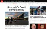 Coronavirus Australia world media portrayal