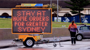 There are fears the virus is circulating in NSW despite stay at home orders.