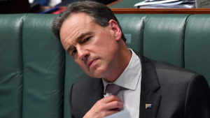 Minister for Health Greg Hunt during Question Time in the House of Representatives at Parliament House on June 03, 2021 in Canberra, Australia