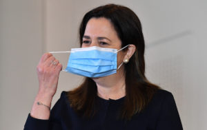 queensland masks virus