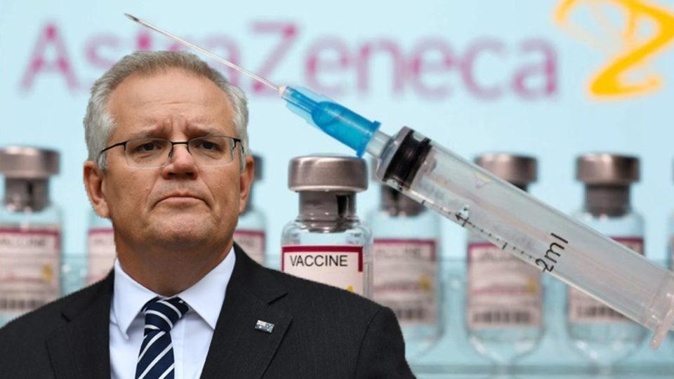 Scott Morrison suggests AstraZeneca gap change