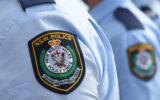 police officer hit run