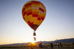 hot air balloon nz