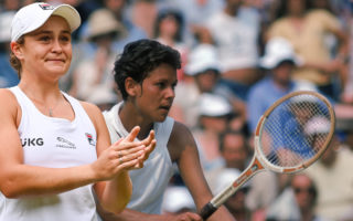 Ash Barty and Evonne Goolagong Cawley