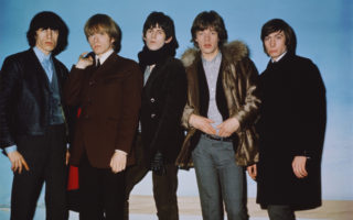 The Rolling Stones pay their first gig