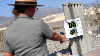 death valley temperature