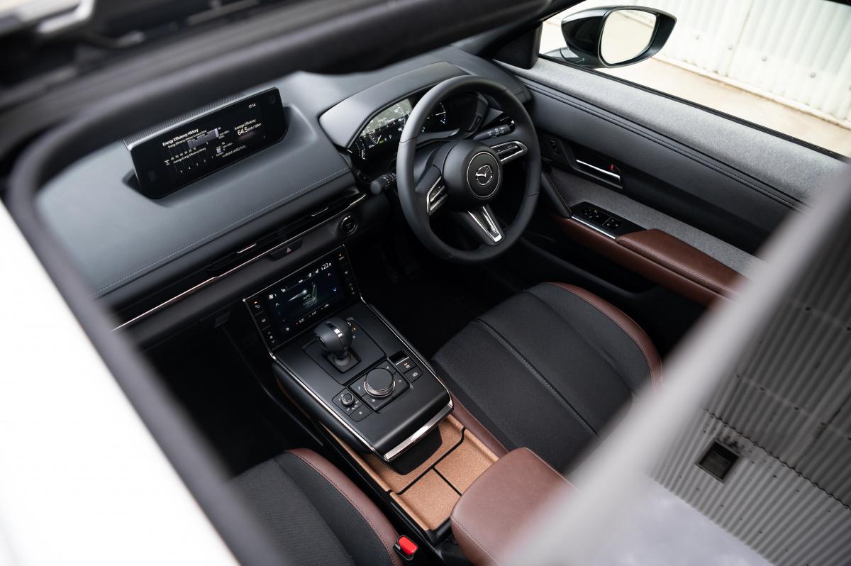 MX-30 interior