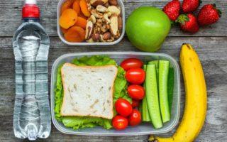 A healthy lunchbox