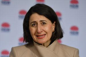 Sydney lockdown Gladys Berejikilian