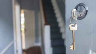 first home front door key