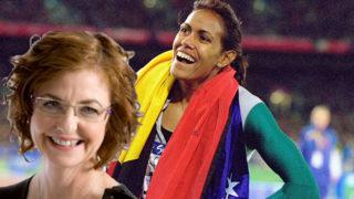 Cathy Freeman at the Sydney Olympics