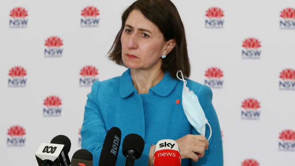 Sydney outbreak Gladys Berejiklian