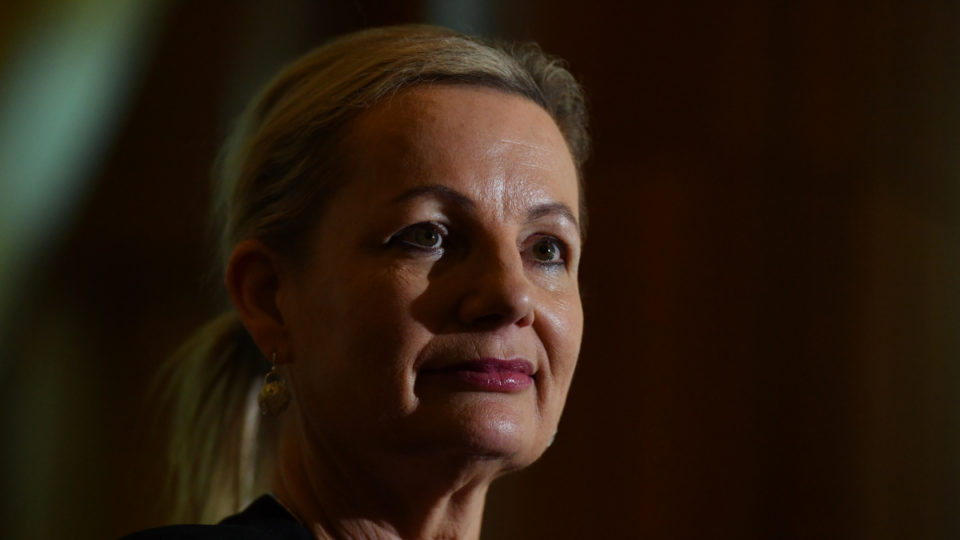 Great Barrier Reef Sussan Ley